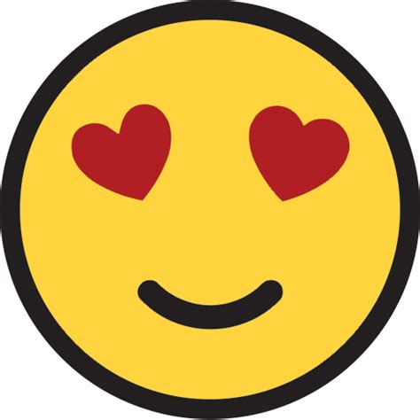 Smiling Face With Heart-shaped Eyes   ID#: 9907   Emoji