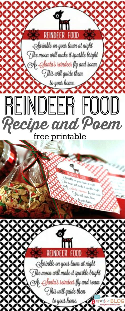 Reindeer Food Recipe with Free Printable | Today's