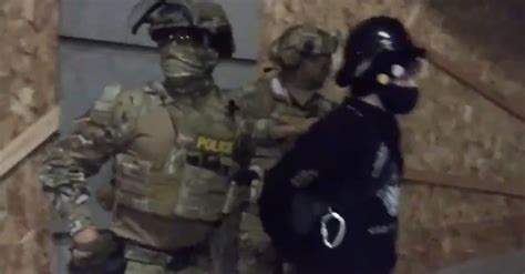 Militarized Federal Officers Are Prowling Portland In