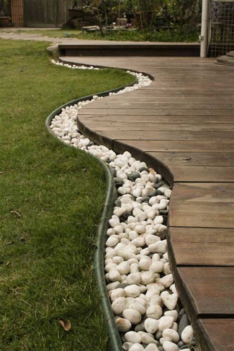 35+ Amazing Ideas Adding River Rocks To Your Home Design