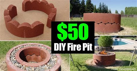 $50 Dollar Fire Pit, DIY And Movable!